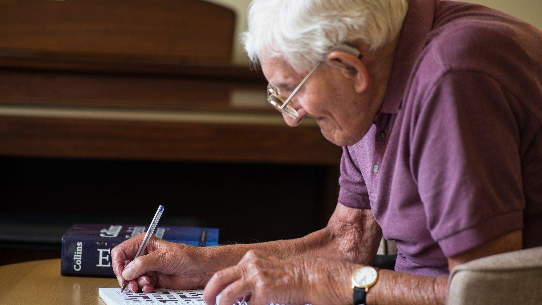 resident writing